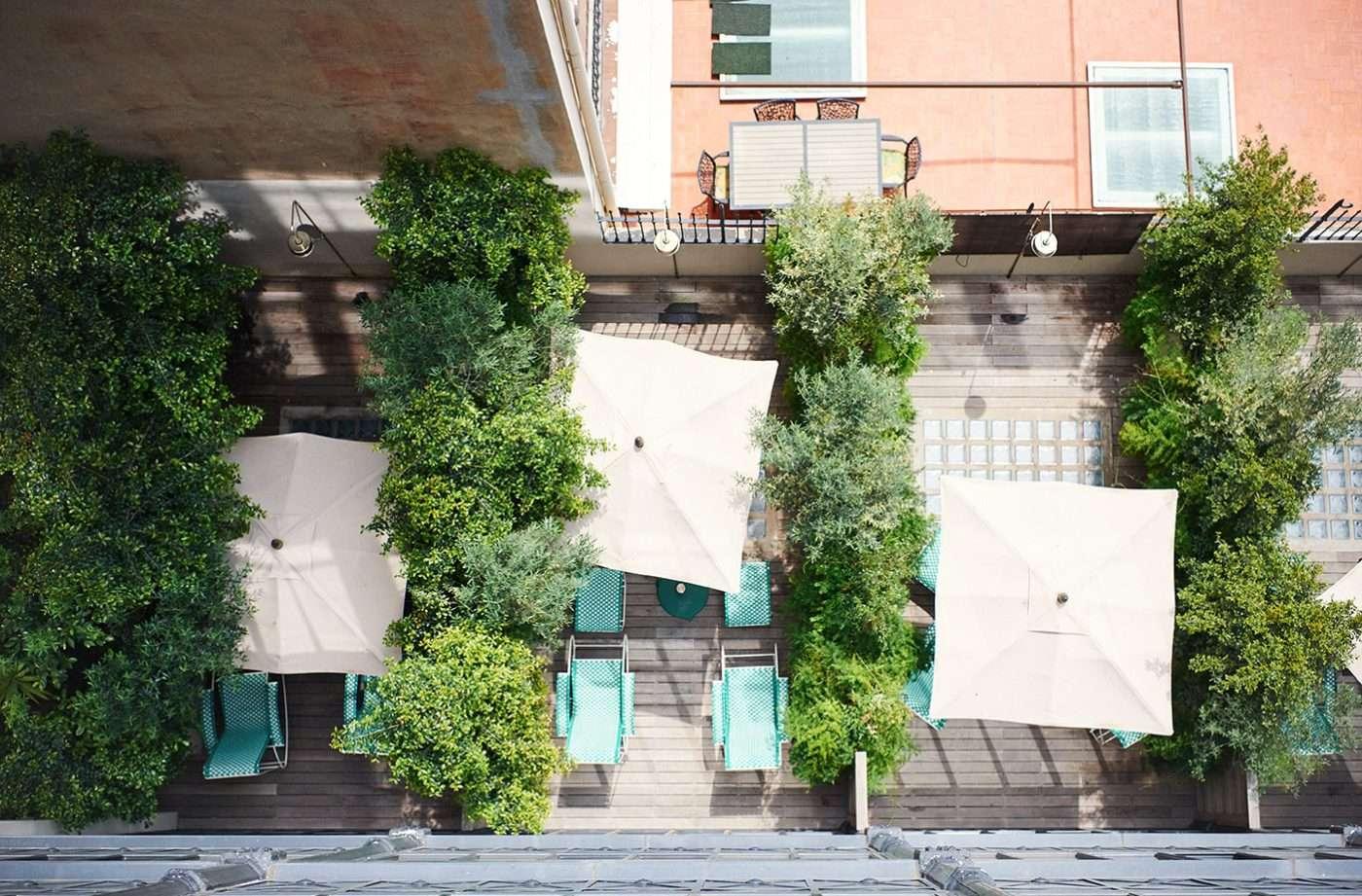 Courtyard Large Terrace   Casa Bonay